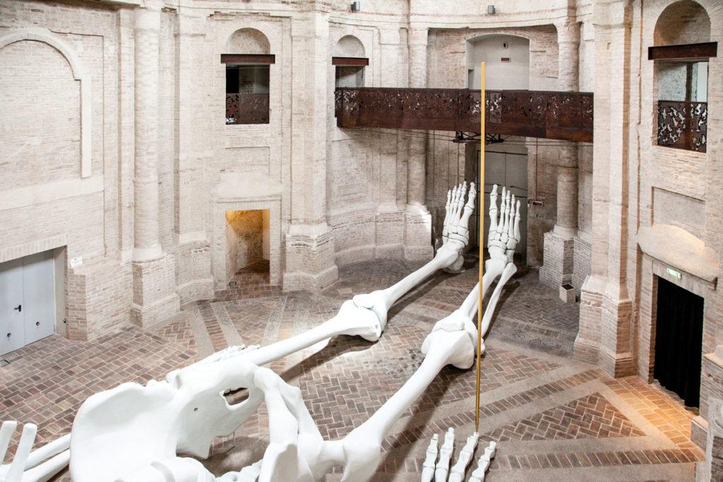 Ex Chiesa della Santissima Trinità in Annunziata di Foligno - Interni a navata unica
