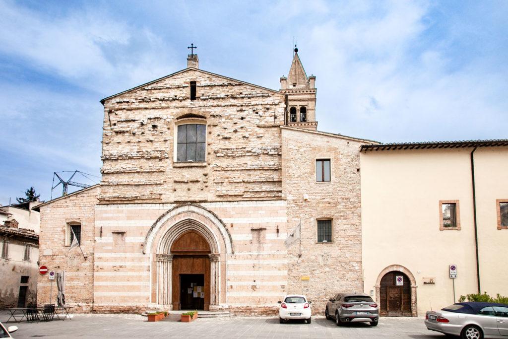 Facciata della Chiesa di San Giacomo di Foligno