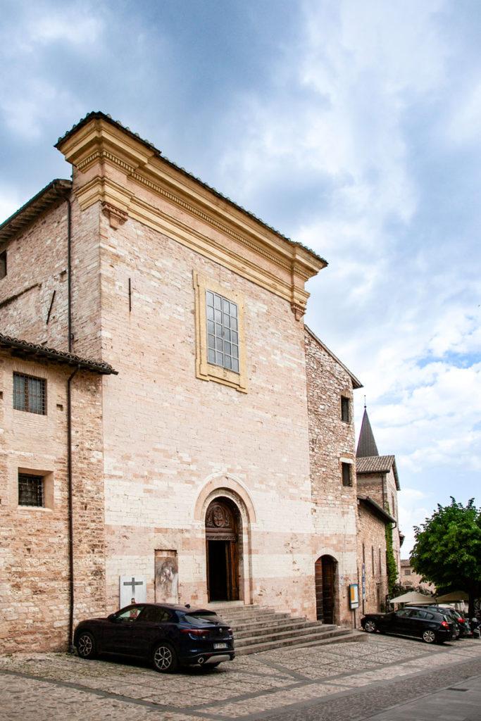Facciata della Chiesa di Sant'Andrea a Spello