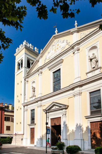 Facciata della Chiesa di Santa Maria Assunta a Garda