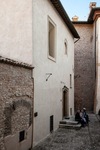 Facciata della Ex Chiesa di San Filippo Neri