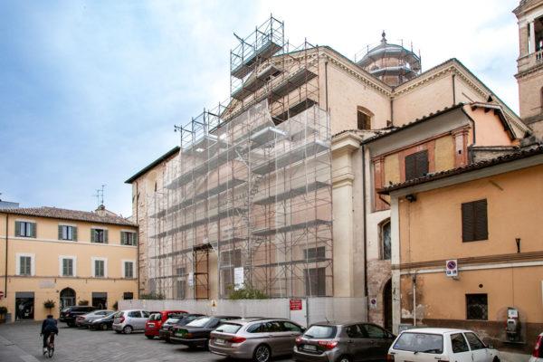 Facciata della chiesa conventuale di San Francesco