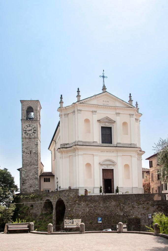 Facciata della chiesa di San Nicolò da Bari