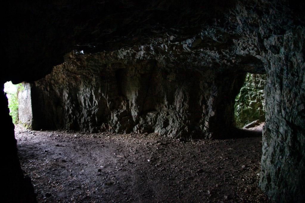 Grotte nel Trekking Veneto