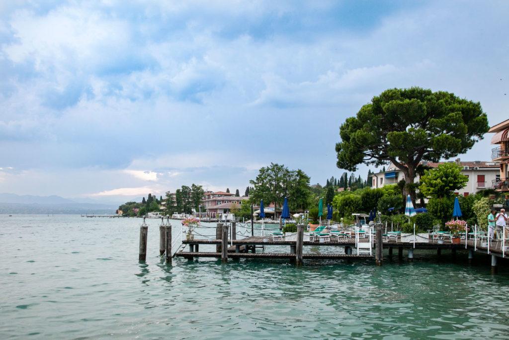 I moli sul lago di Garda