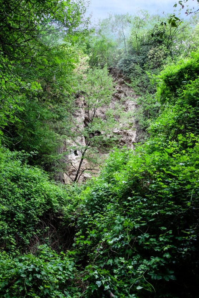 Il vecchio letto del fiume Menotre