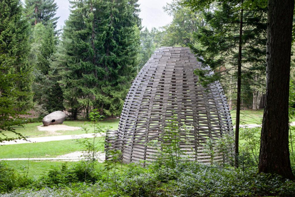 Installazioni Artistiche in val di Sella - Trentino Alto Adige