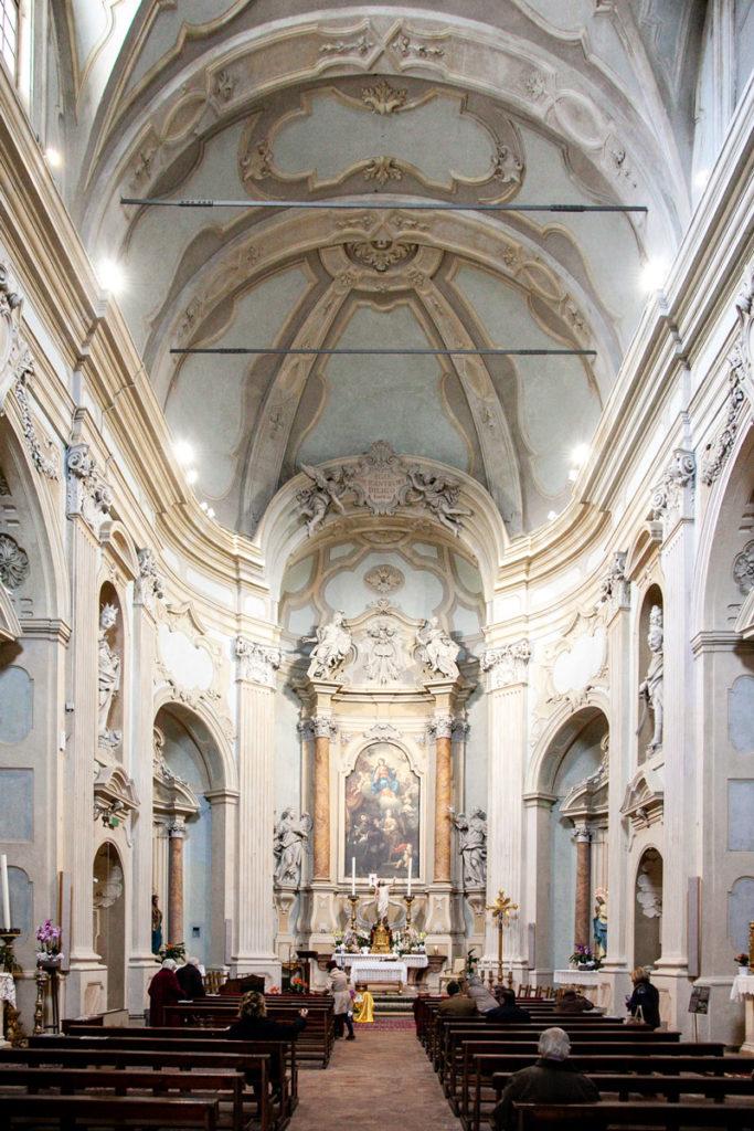 Interni Oratorio del Gonfalone - Foligno