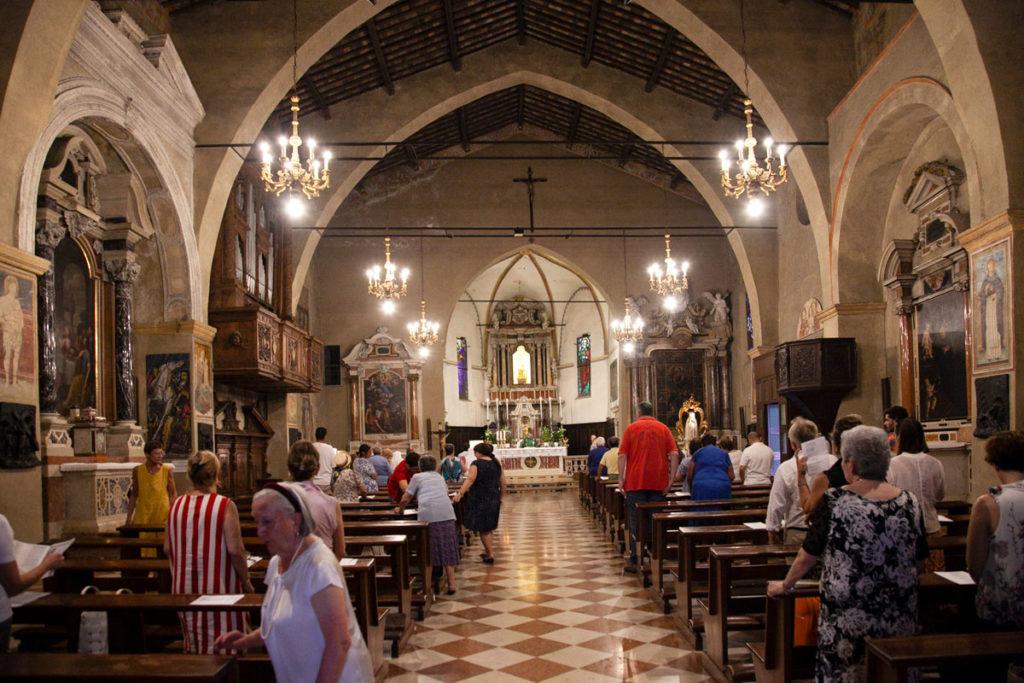 Interni della chiesa di Santa Maria Maggiore