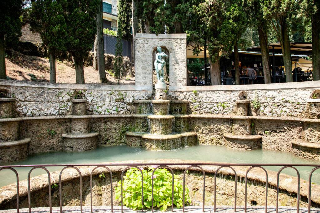 La Fontana del Delfino del Vittoriale degli Italiani