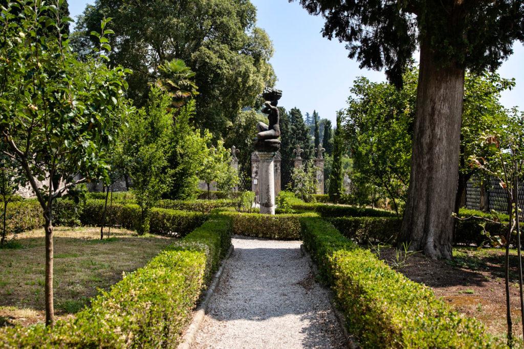 La Limonaia dei giardini del Vittoriale degli Italiani
