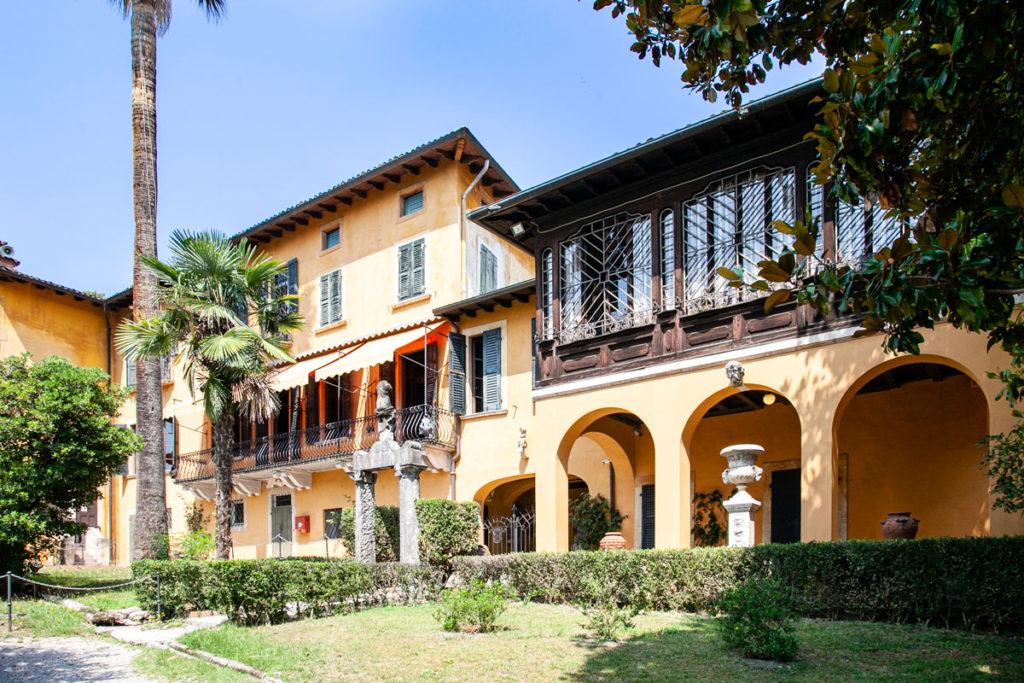 La Prioria - la villa di Gabriele d Annunzio al Vittoriale degli Italiani di Gardone Riviera