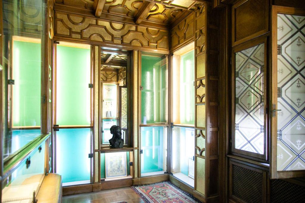 Le vetrate del museo D'Annunzio Eroe
