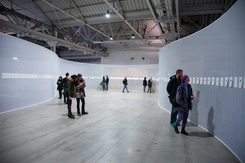 Lichtzwang di Daniel Steegmann Mangrané ad Hangar Bicocca