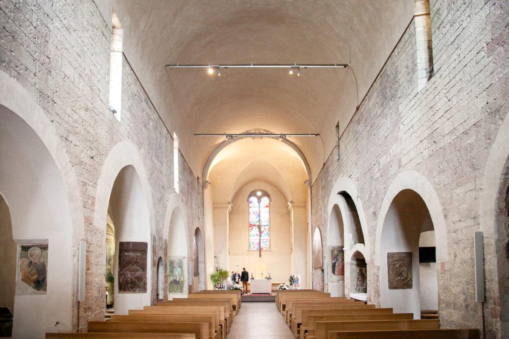 Navata Interna Basilica di Santa Maria Infraportis