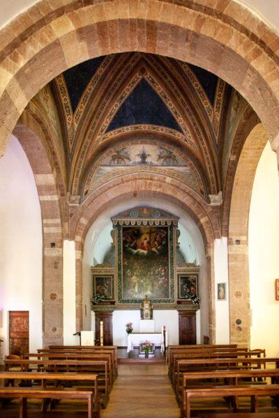 Navata Interna della chiesa di San Severino