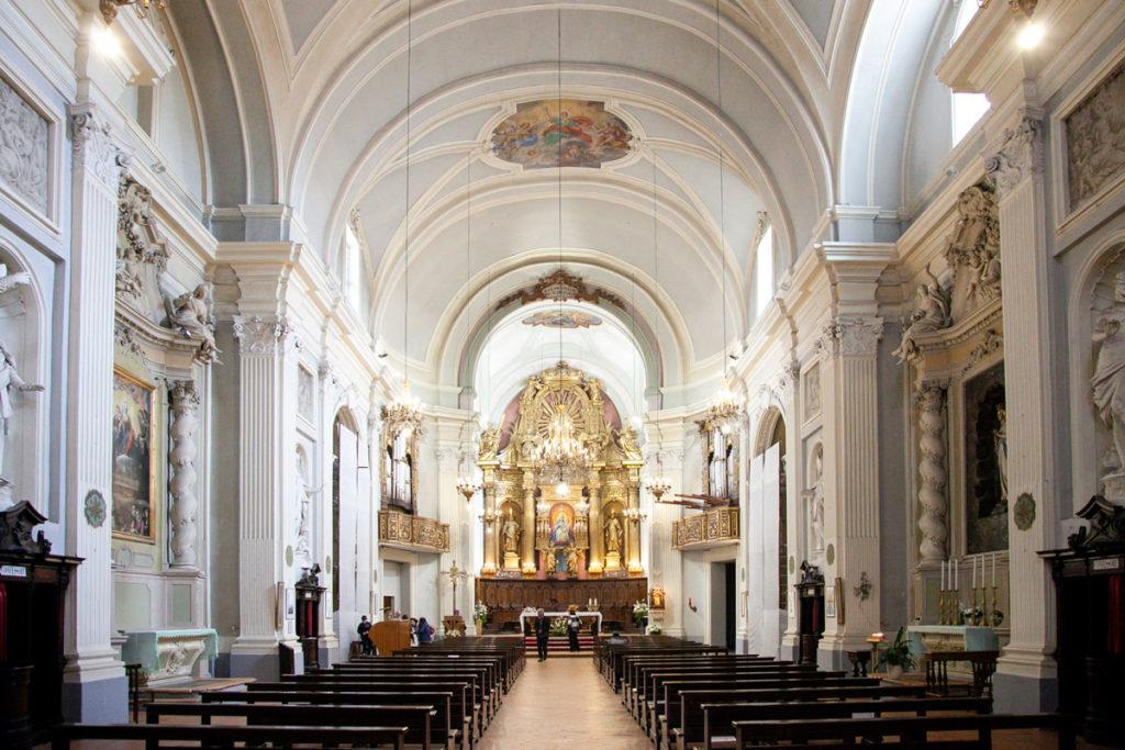 Navata Interna della chiesa di Sant'Agostino - Foligno