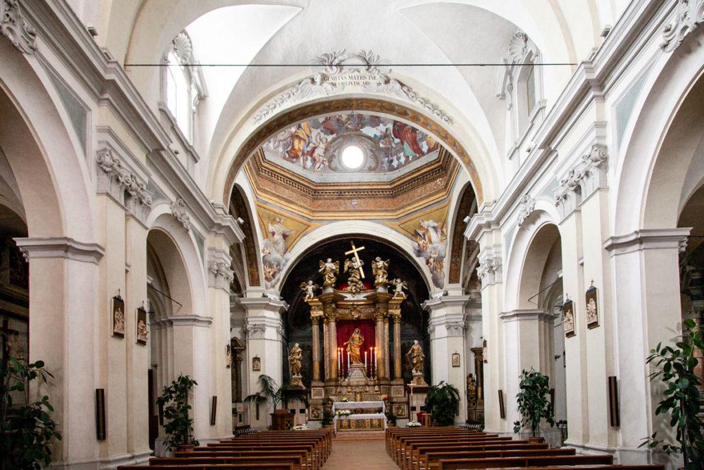 Navata interna della Chiesa di San Giacomo