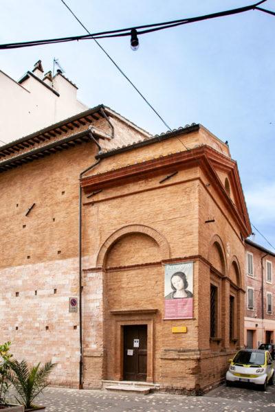 Oratorio della Nunziatella con affresco del Perugino