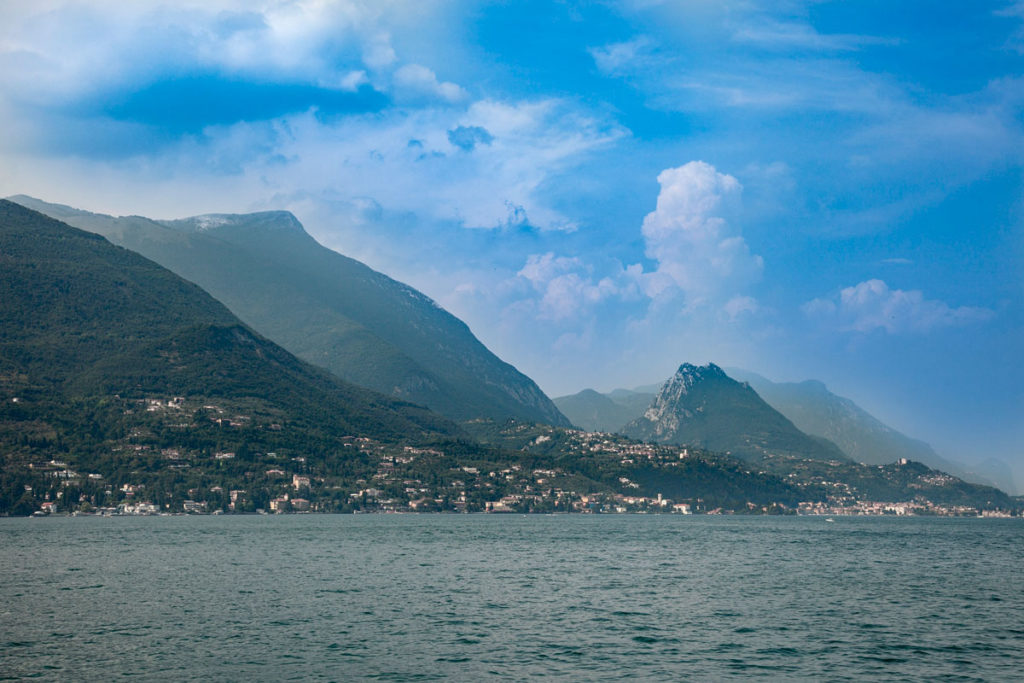 Panorama sul basso lago di Garda