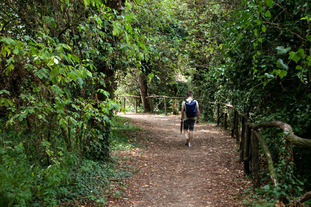 Persi nella natura del Parco delle Cave di Milano