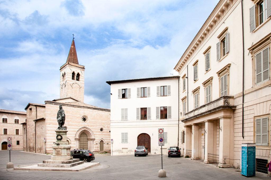 Piazza Garibaldi di Foligno