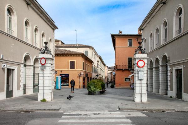 Porta Romana - Ingresso a Corso Cavour