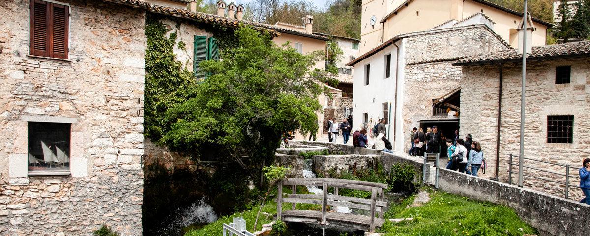 Rasiglia - Centro Storico con Canali