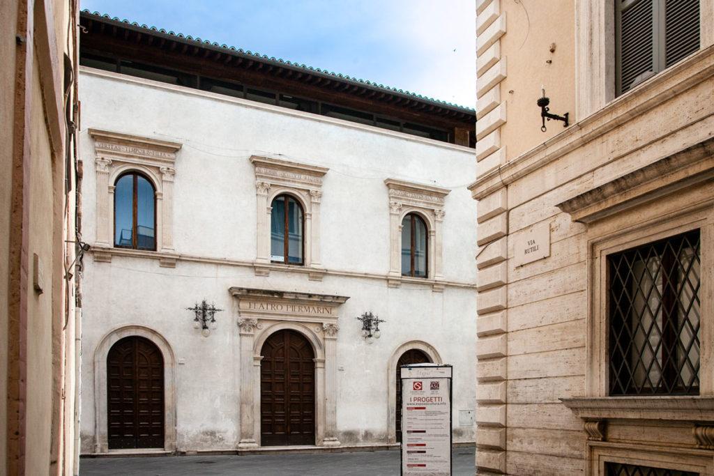 Scorcio su Teatro Piermarini - Foligno