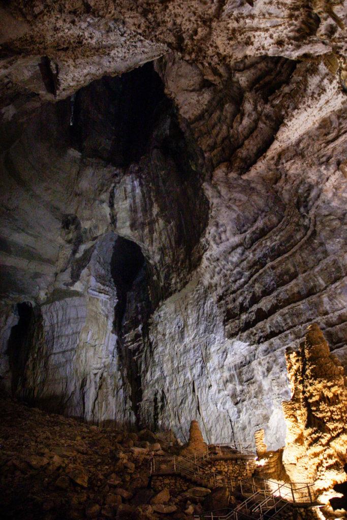 Sommita di Abisso Ancona - Da dove vennero scoperte le grotte