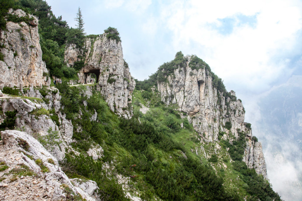 Strada degli Scarubbi - Trekking Prealpi Vicentine