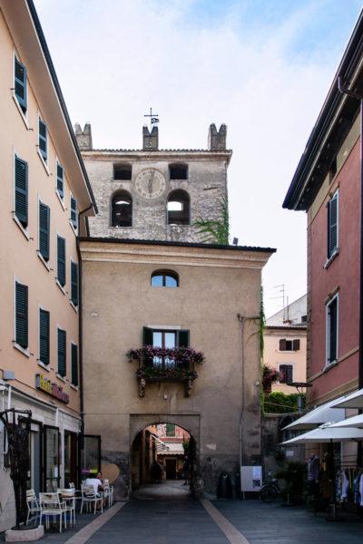 Torre dell'Orologio o Torre Civica del comune di Garda