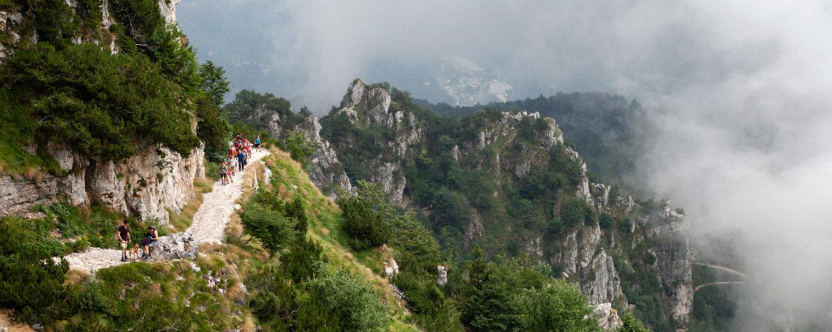 Trekking delle 52 Gallerie sul monte Pasubio