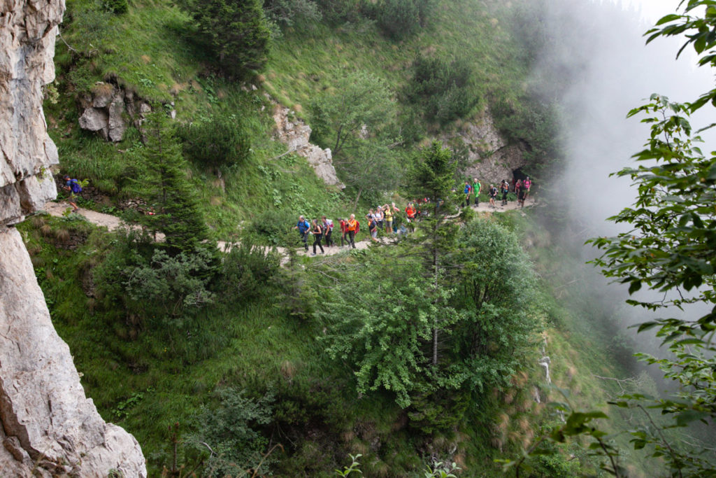 Trekking suggestivo sul monte Pasubio