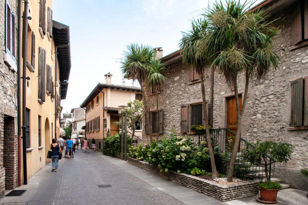 Vicoli del centro storico di Sirmione