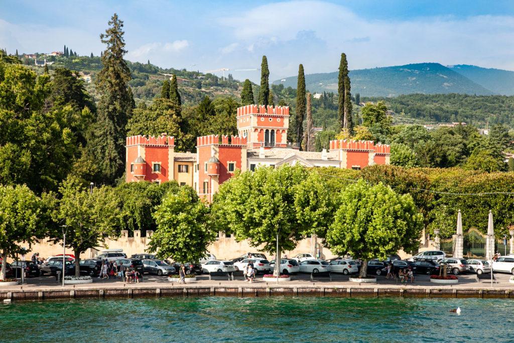 Villa Albertini vista dal Lago