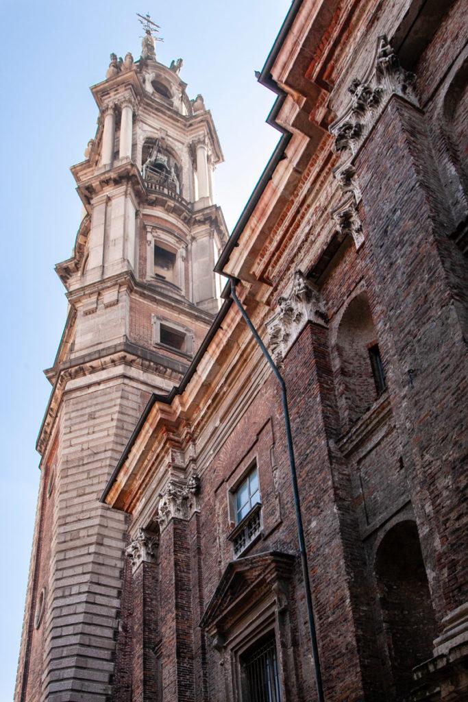 Campanile della basilica di San Gaudenzio