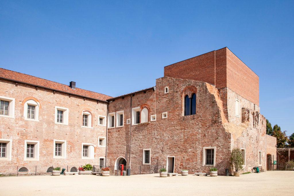 Castello Visconteo Sforzesco di Novara - Cortile Interno