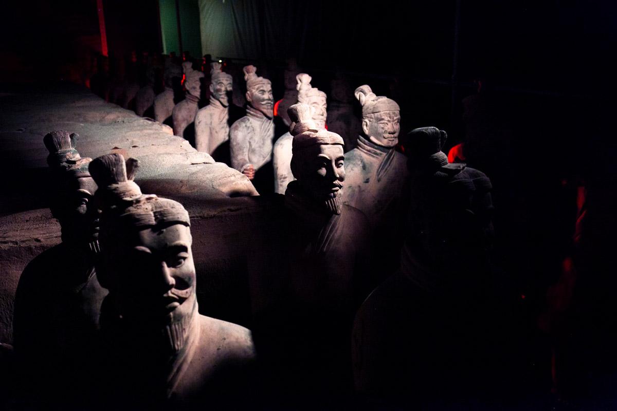 Conservazione e Restauro dell'Esercito di Terracotta Cinese