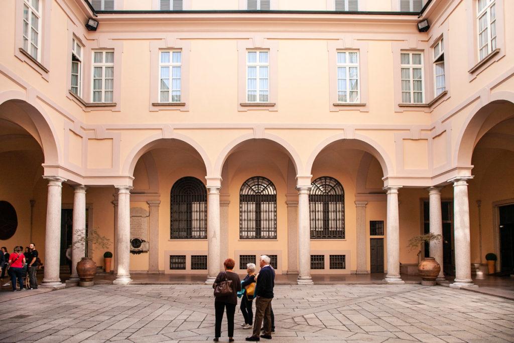Cortile interno del Palazzo Bellini