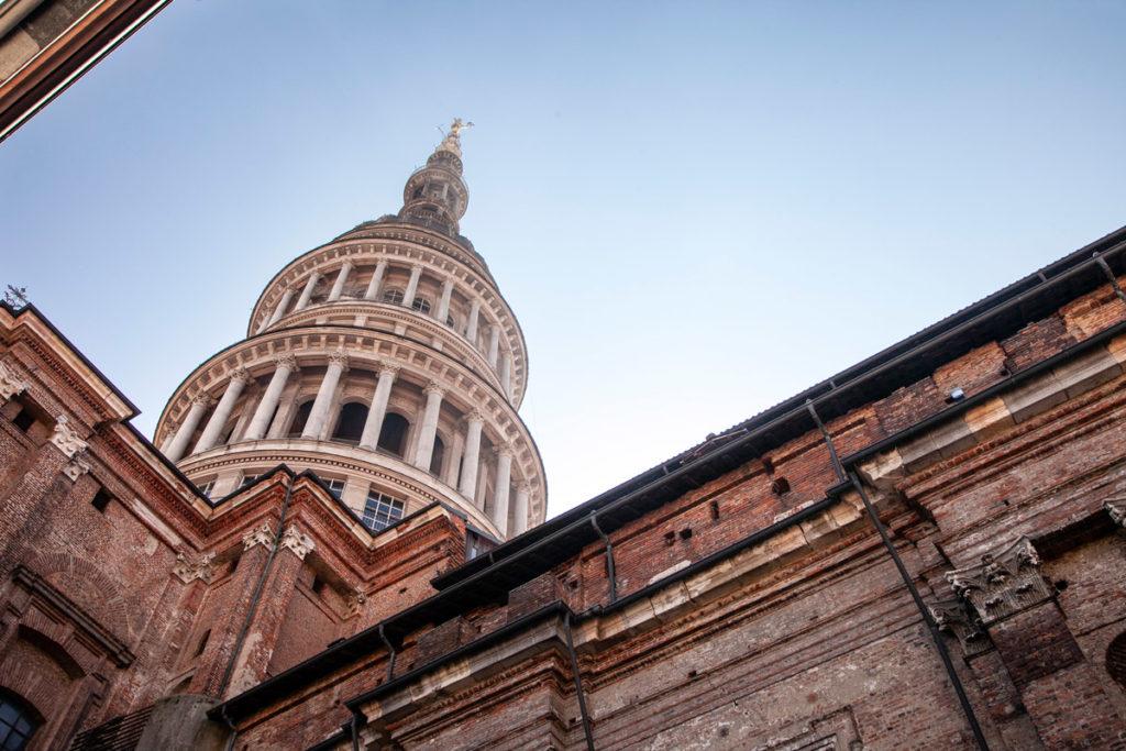 Cupola Antonelliana vista da fuori - Basilica di San Gaudenzio di Novara