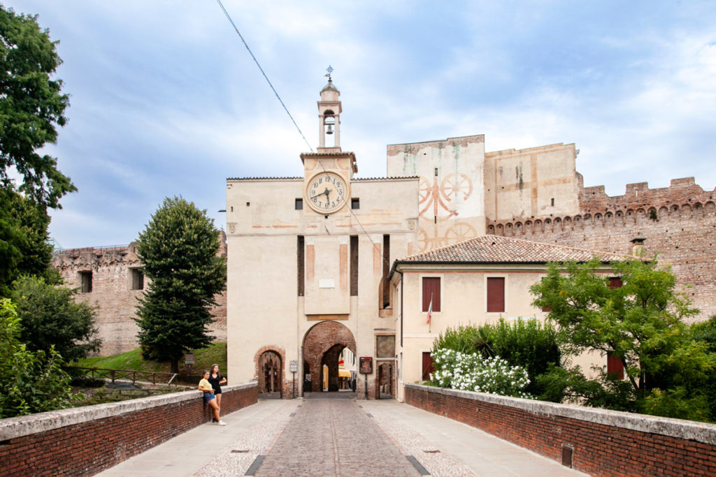 Esterni di Porta Padova a Cittadella