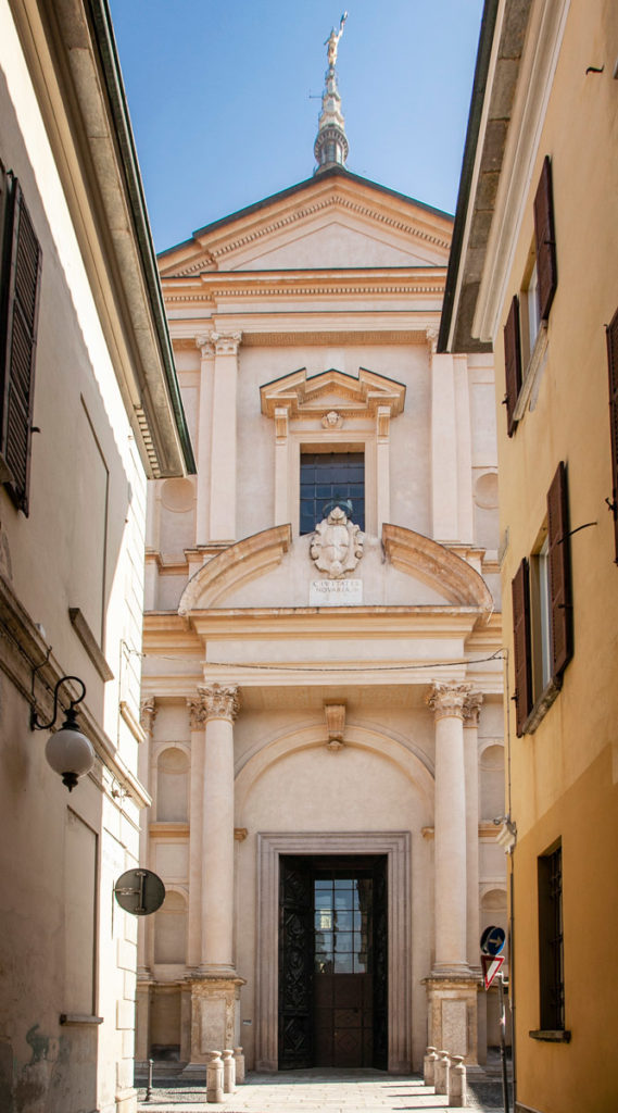 Facciata della Basilica di San Gaudenzio