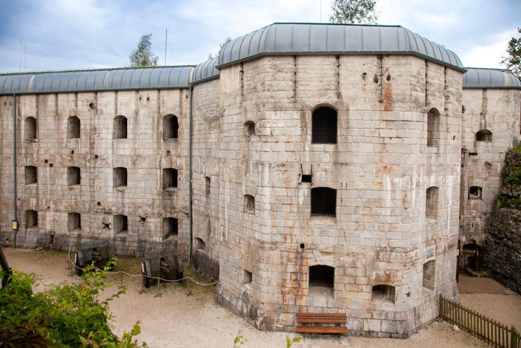 Forte Belvedere Gschwent - Ingresso al Blocco Casematte