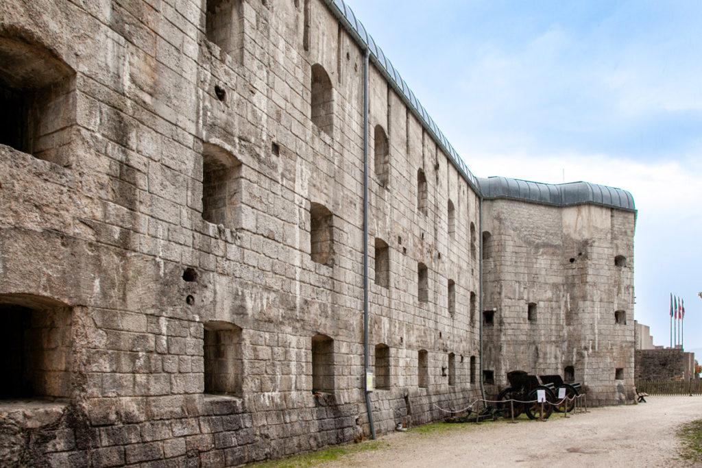Forte Belvedere Gschwent - Testimonianze della prima guerra mondiale a Trento - Fortino Austroungarico