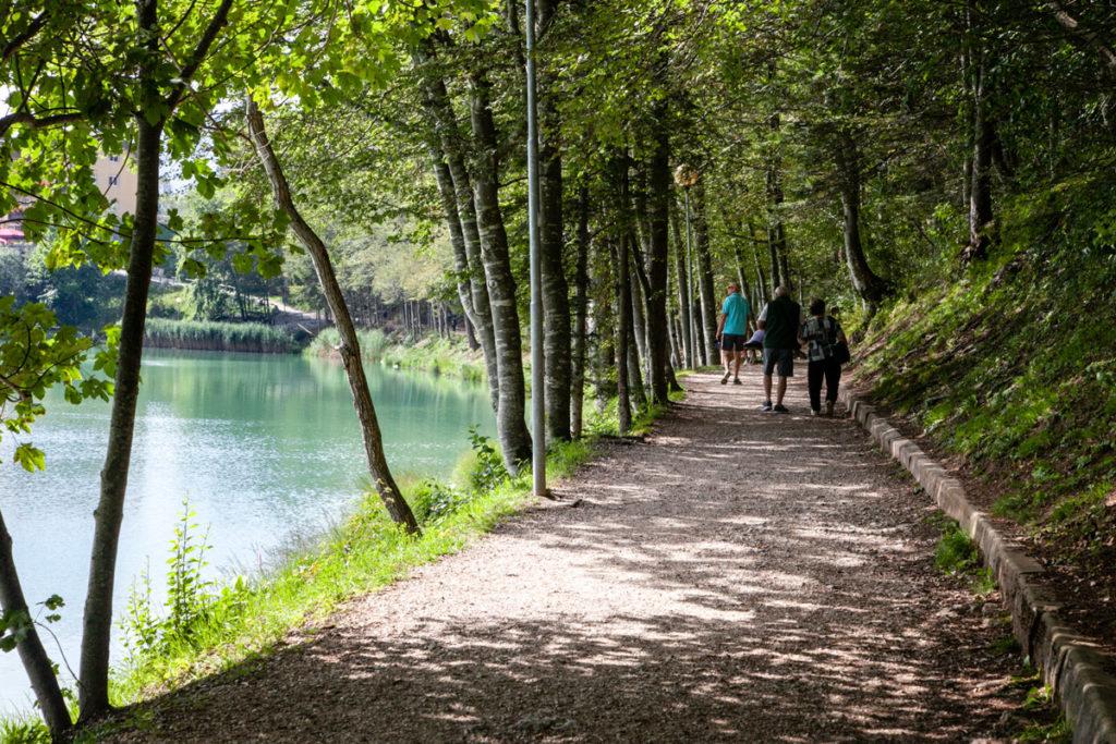 Giro del lago - Passeggiata intorno alla riva