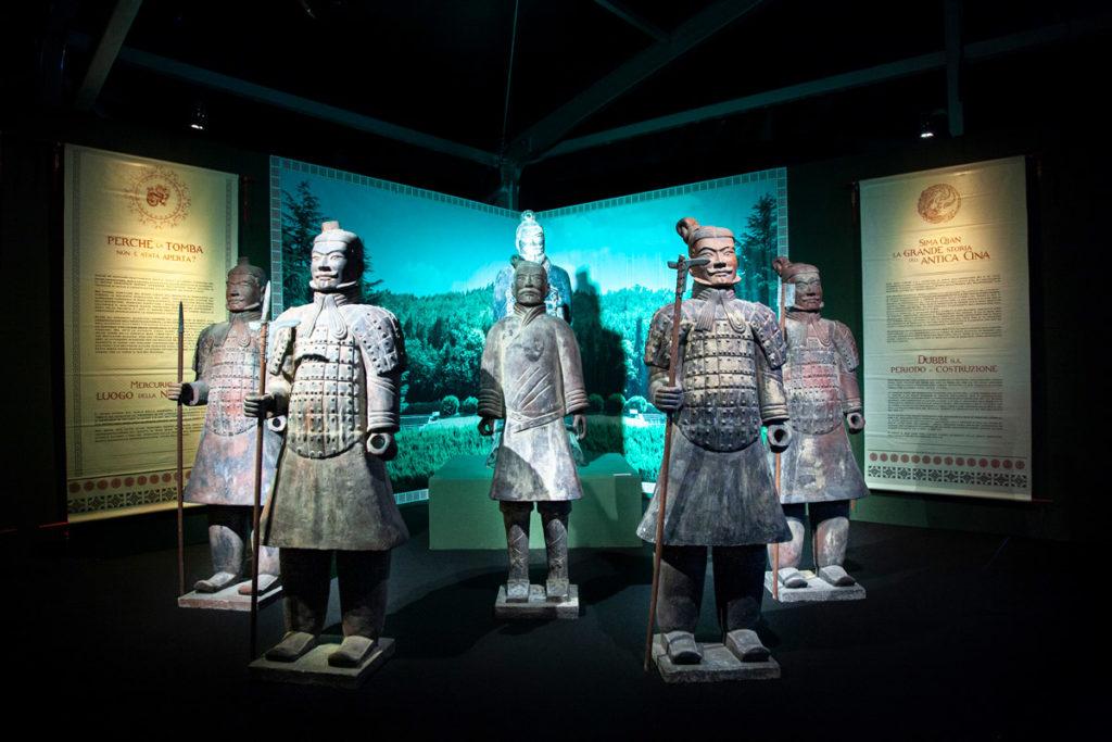 Le statue dell'Esercito di Terracotta alla Fabbrica del Vapore