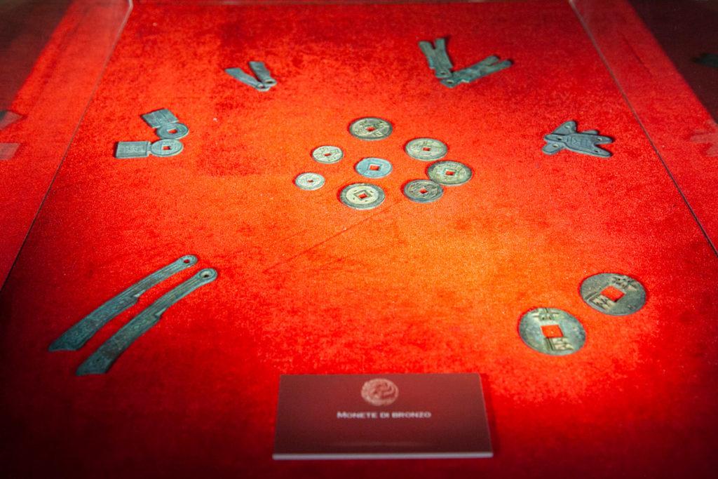 Monete in Bronzo dell'Antica Cina