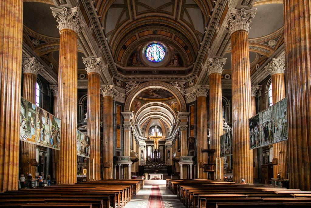 Navata centrale della cattedrale di Santa Maria Assunta