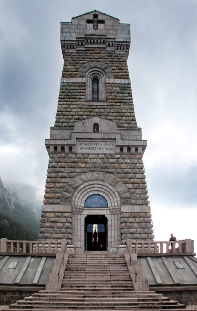 Ossario del Pasubio - Ingresso al Sacello